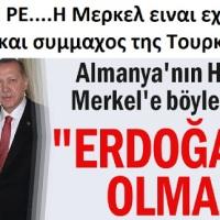 ΞΥΠΝΑΤΕ ΡΕ.... αυτή η σκύλα η  Μέρκελ του 4ου Ράϊχ,  είναι εχθρός της Ελλάδος και σύμμαχος της Τουρκίας ! ! !